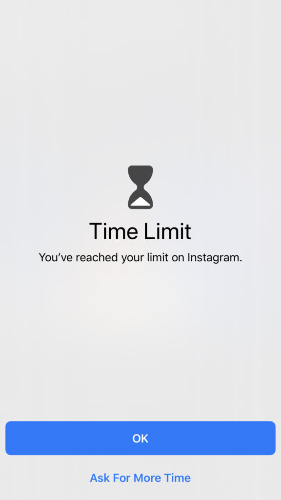 Time Limit Social Media