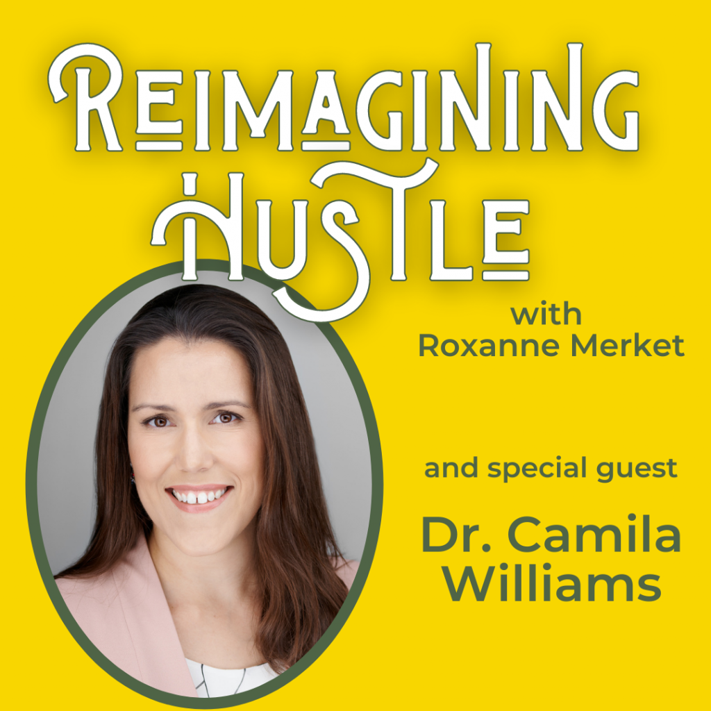 Reimagining Hustle with Dr. Camila Williams
